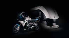 Rossier garáž motorka