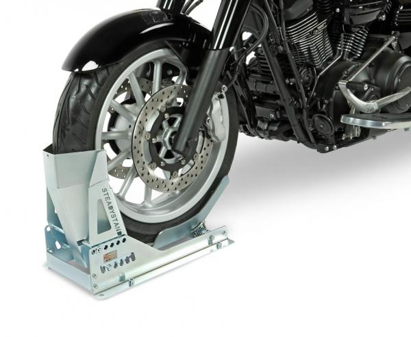 Držiak motocykla na príves skrutkovateľný (veľkosť kolesa 15-21 ̋ / šírka 90-200 mm)