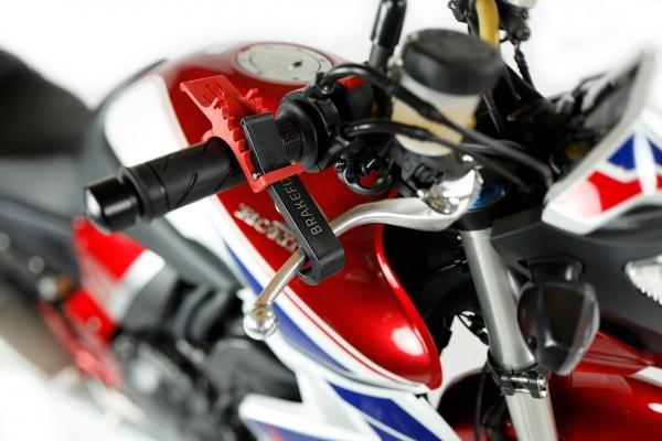 Brzda motocykla na riadidlá, Brakefix